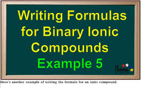 here u0027s another example of writing the formula for an ionic