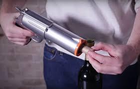 kitchen gun amazon com wineovation wno 01 electric wine opener gun silver