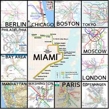 Miami Dade College Map by The Limits Of Miami Dade U0027s Public Transportation Panthernow