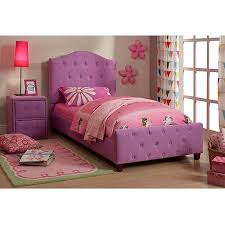 Twin Bed Walmart Diva Upholstered Twin Bed Purple Walmart Com