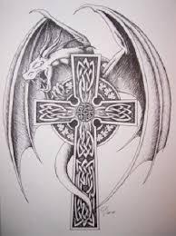 cross designs wings tattoomagz