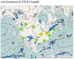 Weather Map United States by Multiple Layers Support With Leaflet Module Version 7 X 1 1