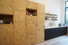 cuisine en panneaux fenix et osb modern kitchen by ms