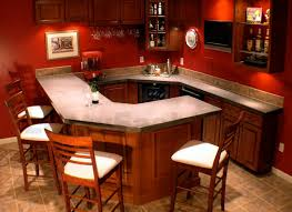 basement wet bar corner elegant french country kitchen