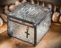 baptism jewelry box baptism box etsy