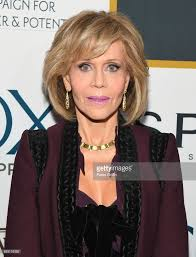 hairstyles to add more height actress jane fonda attends gcapp eight decades of jane in