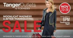 moonlight madness after thanksgiving sales at foxwoods resort