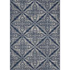 Blue Grey Area Rugs Andover Mills Anzell Blue Gray Area Rug Reviews Wayfair