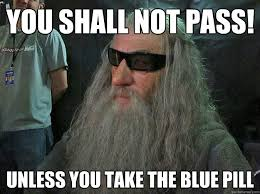 You Shall Not Pass Meme - image 222573 you shall not pass know your meme