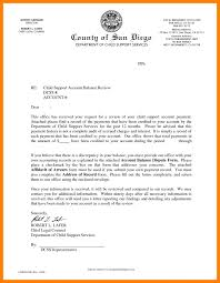 6 child support letter sample weekly template