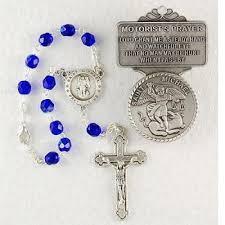 auto rosary michael guardian angel auto rosary visor clip set av mk