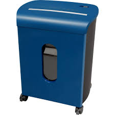 sentinel 10 sheet microcut paper shredder fm104p ble blue paper