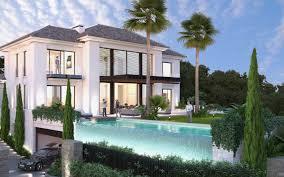 villa d architecte contemporaine villas modernes maisons contemporaines immobilier de luxe à