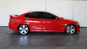 2009 holden commodore ve my09 5 ss red 6 speed automatic sedan
