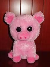 big corky pink pig beanie boo horse stuffed animal ty 36953 ebay