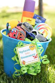 Summer Gift Basket Splash Into Summer Gift Idea The Crafting