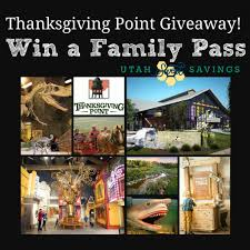 utah thanksgiving point giveaway thanksgiving point family pass
