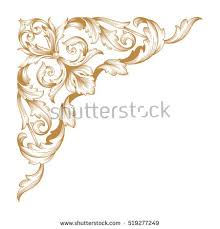 royalty free stock photos and images gold vintage baroque corner