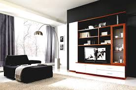 Living Room Cupboard Furniture Design Sensational White Wooden Built In Living Room Shelves With