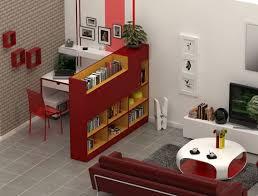 amenager bureau dans salon coin bureau au salon comment le séparer efficacement