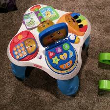 sit to stand activity table find more fisher price sit to stand play table for sale at up to 90