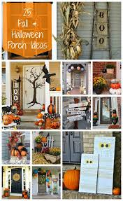 halloween outside decorations 25 fall and halloween porch ideas