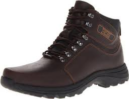 s rockport xcs boots rockport s brown elkhart xcs waterproof leather lace up boot