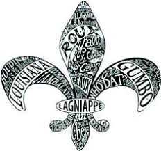 fleur de lis painting by the famous new orleans artist david wargo