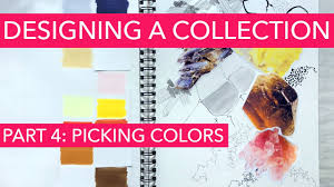 watch me design a fashion collection colors youtube
