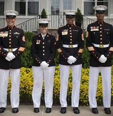 marine corps dress blues gowns and dress ideas