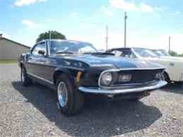 1970 Mustang Mach 1 Black Ford Mustang Mach 1 For Sale Used Cars On Buysellsearch