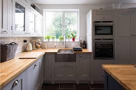 oak kitchen furniture 2017 top antique design solid wood kitchen furniture with 18mm
