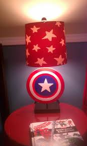 Captain America Bedroom by Superhero Lamp Captain America Lamp Next Lamp Project Terri