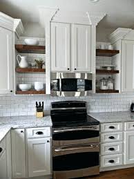 open style kitchen cabinets open shelving in kitchen hicro club
