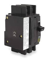 circuit breaker qou 2 pole shunt trip by square d zoro com