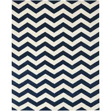 Zig Zag Area Rug Blue And White Chevron Rug Rug Designs