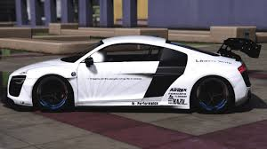 Audi R8 V10 Libertywalk Add On Replace Gta5 Mods Com
