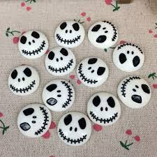 Halloween Homemade Crafts by 10pieces Flat Back Resin Cabochon Skeleton For Halloween Diy