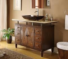 34 Bathroom Vanity Cabinet Vessel Sinks 34 Impressive Bath Vanity With Vessel Sink Photos