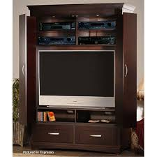 Entertainment Center Armoire Innovative Soho High Definition Cabineted Armoire Entertainment
