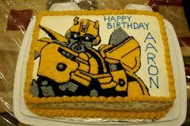 transformer birthday cake favorable inspiration bumblebee transformer cake and