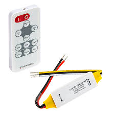 tape lights with remote tunable white led controller w wireless rf remote 7 amps channel