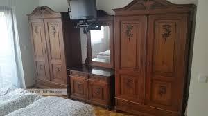Antike Schlafzimmer Lampen Antike Schlafzimmer Einrichtung Um 1890 5 Teilig Schrank