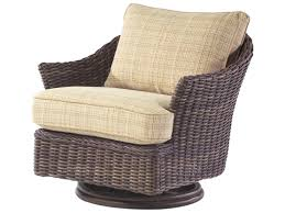 Swivel Wicker Patio Chairs by Whitecraft Sonoma Wicker Swivel Lounge Chair S561015