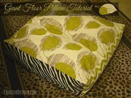 Giant Floor Pillows For Kids by Home Design Diy Oversized Floor Pillows Kids Landscape