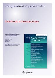 management control systems a review pdf download available