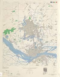 Nanking China Map by