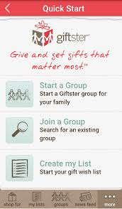 wish list app organized for christmas task 4 giftster wish list app