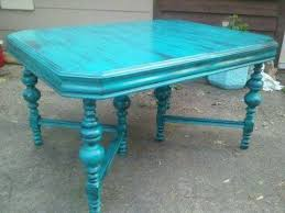 Teal Dining Table Nik Nax Teal Dining Table