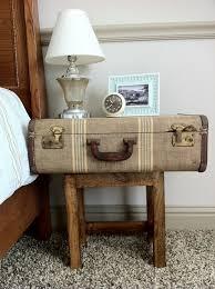wohnideen schlafzimmer diy wohnideen schlafzimmer nachttisch alter koffer diy ideen